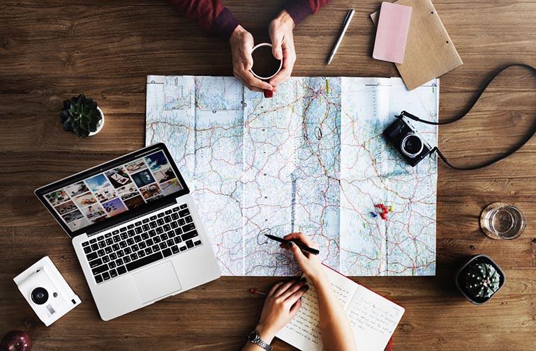 Organizzazione di un viaggio